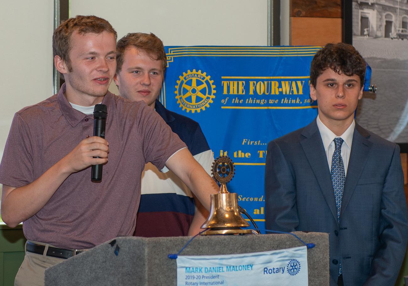 John Leddy, Logan Leddy and Ari Vozaitis