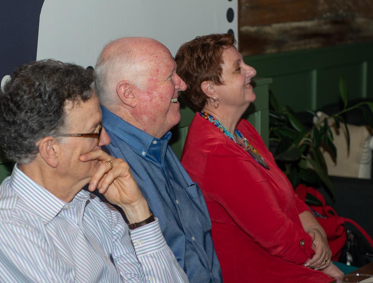 Tom Eakin, Steve Amend and Shauna Lorenzen
