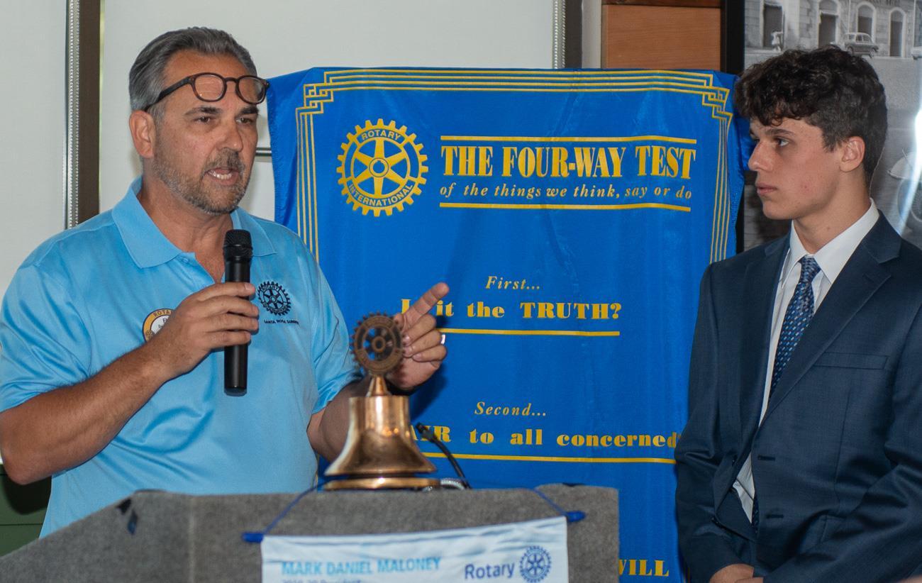 Don Floriani and Ari Vozaitis
