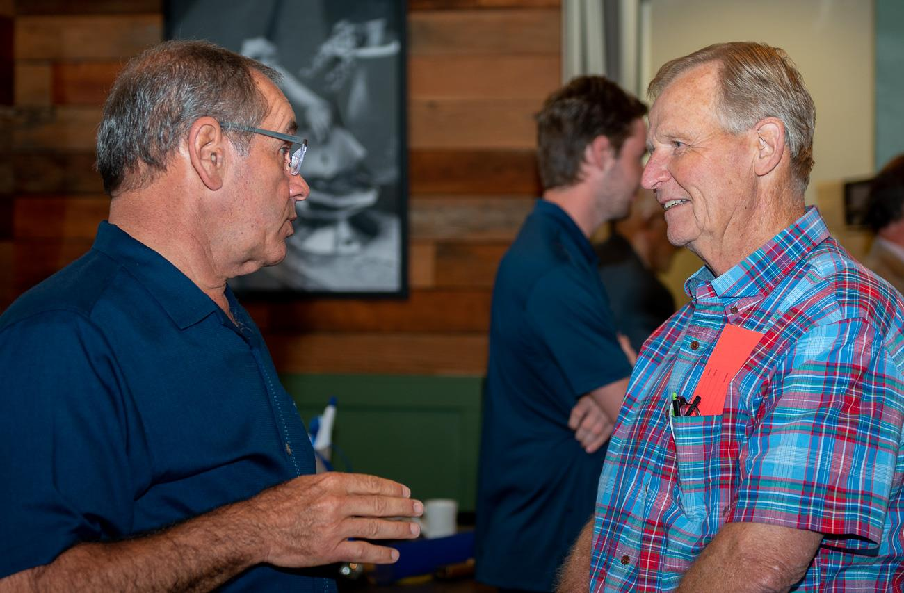 John Jones and Steve Zwick