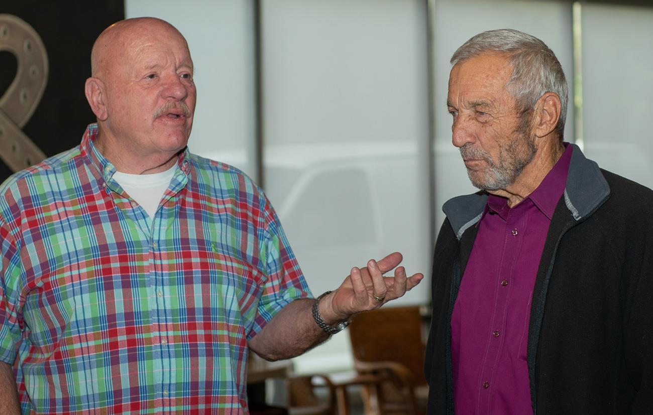 Jim Kirkbride and Peter Banks