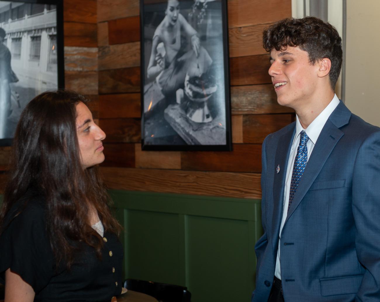 NEX GEN Student and Ari Vozaitis