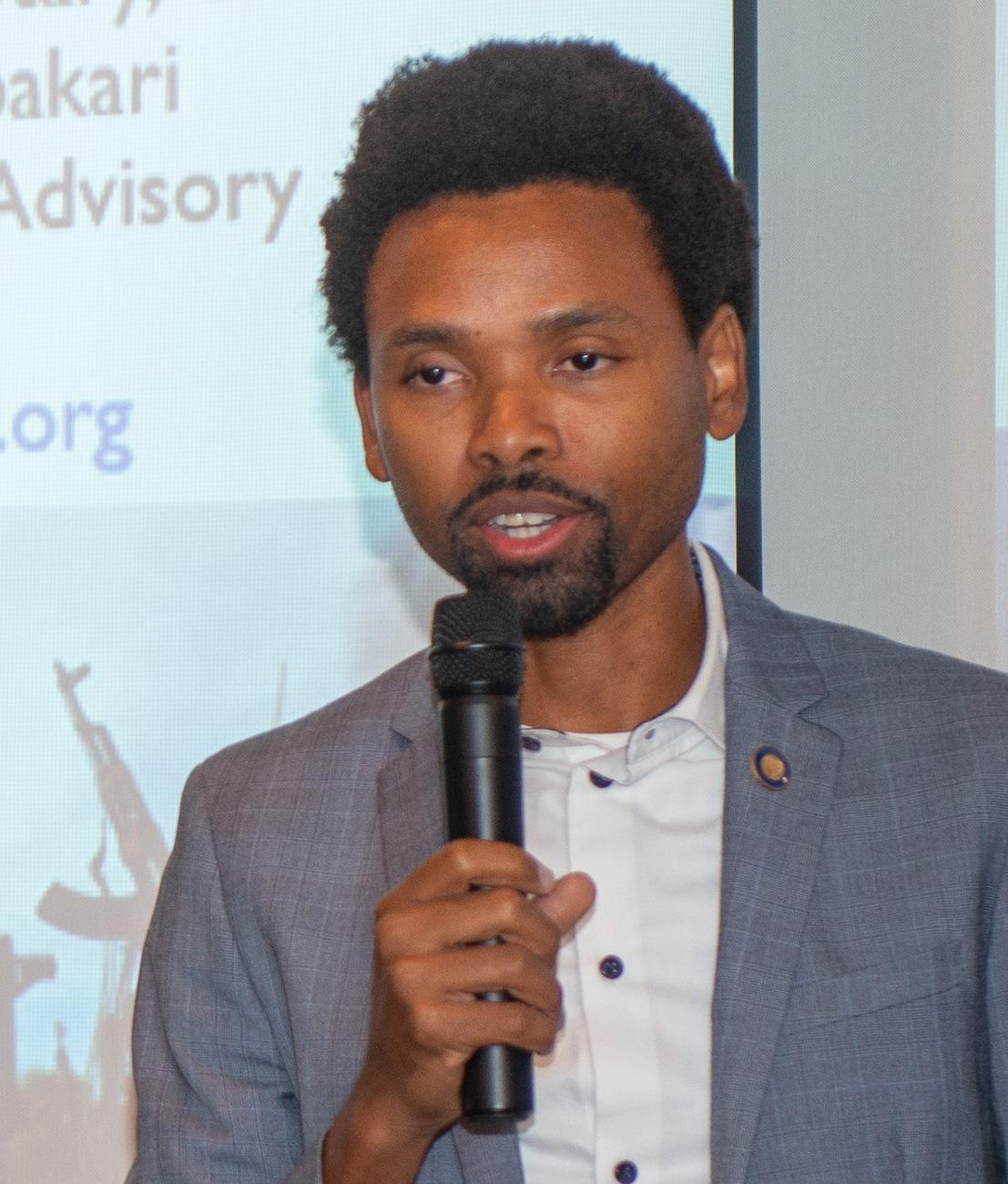 Speaker Christopher Zambakari