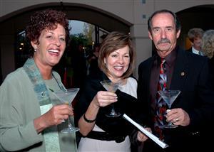 Nancy Aita, Irene King and Bob Aita