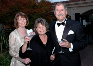 Carol Cooper, Guest and Al Holkum