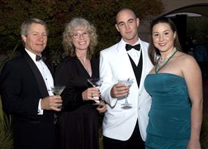 Paul O'Rear, Penny Millar, James Buldouc and Guest