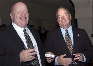 Jim Kirkbride and Steve Worthen