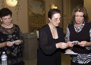 Sue Cocheran, Shauna Lorenzen and Laura Herron