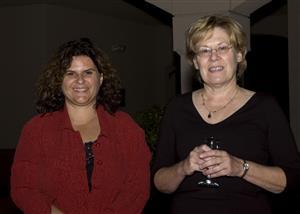 Janet Hamilton and Susan Glowacki