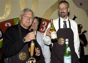 Steve Schofield, Peter Treleaven and Jim Moir