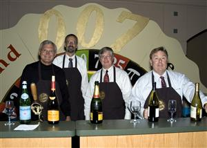 Steve Schofield, Jim Moir, Steve Herron and Peter Treleaven