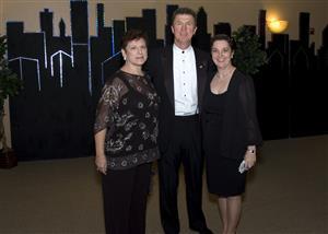 Sue Cocheran, John Dolinsek and Shauna Lorenzen