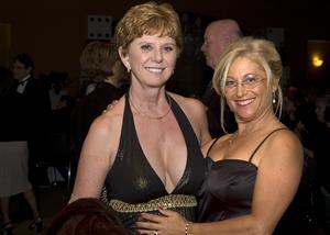Cindy Brenton and Robin Abramson