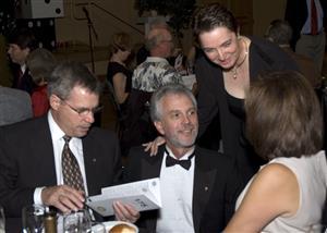 Art King, Dave and Shauna Lorenzen and Irene King