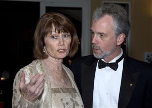 Carol Cooper and Dave Lorenzen