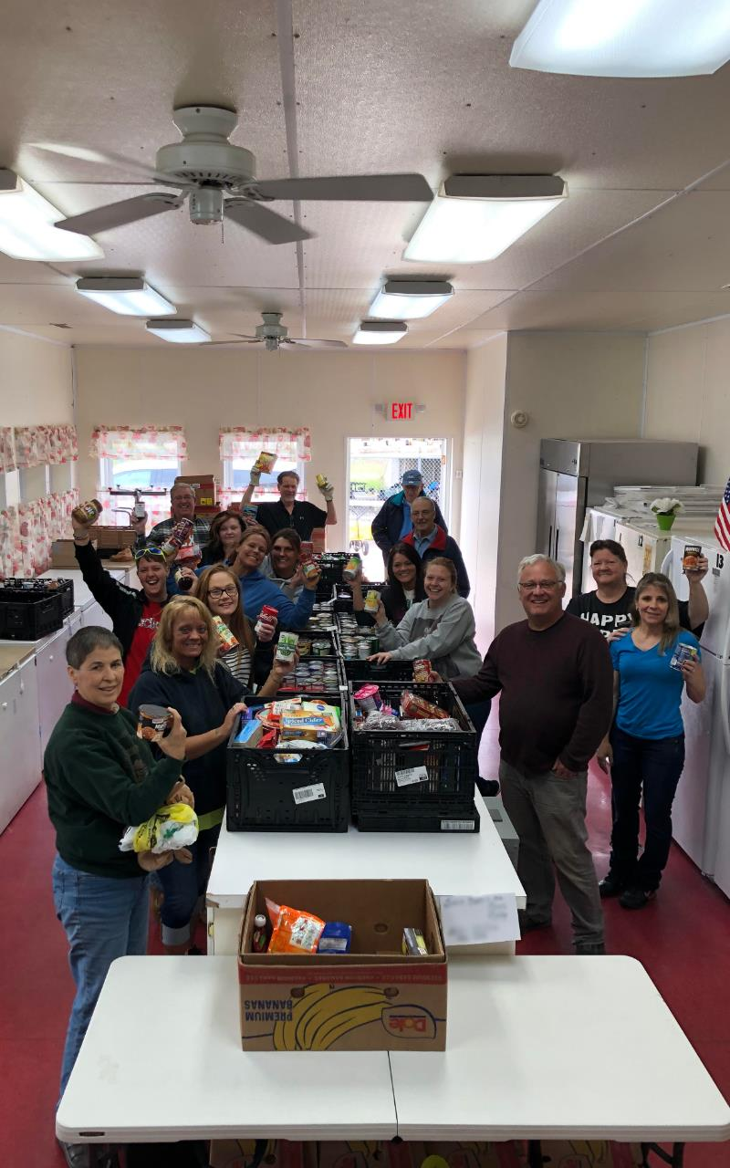 Mail Carriers Food Drive 2019