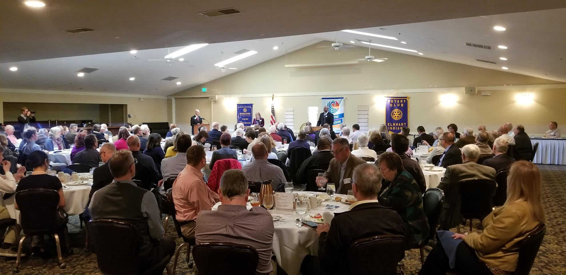 Elkhart Rotary Club Meeting April 15, 2019 | Rotary Club of Elkhart