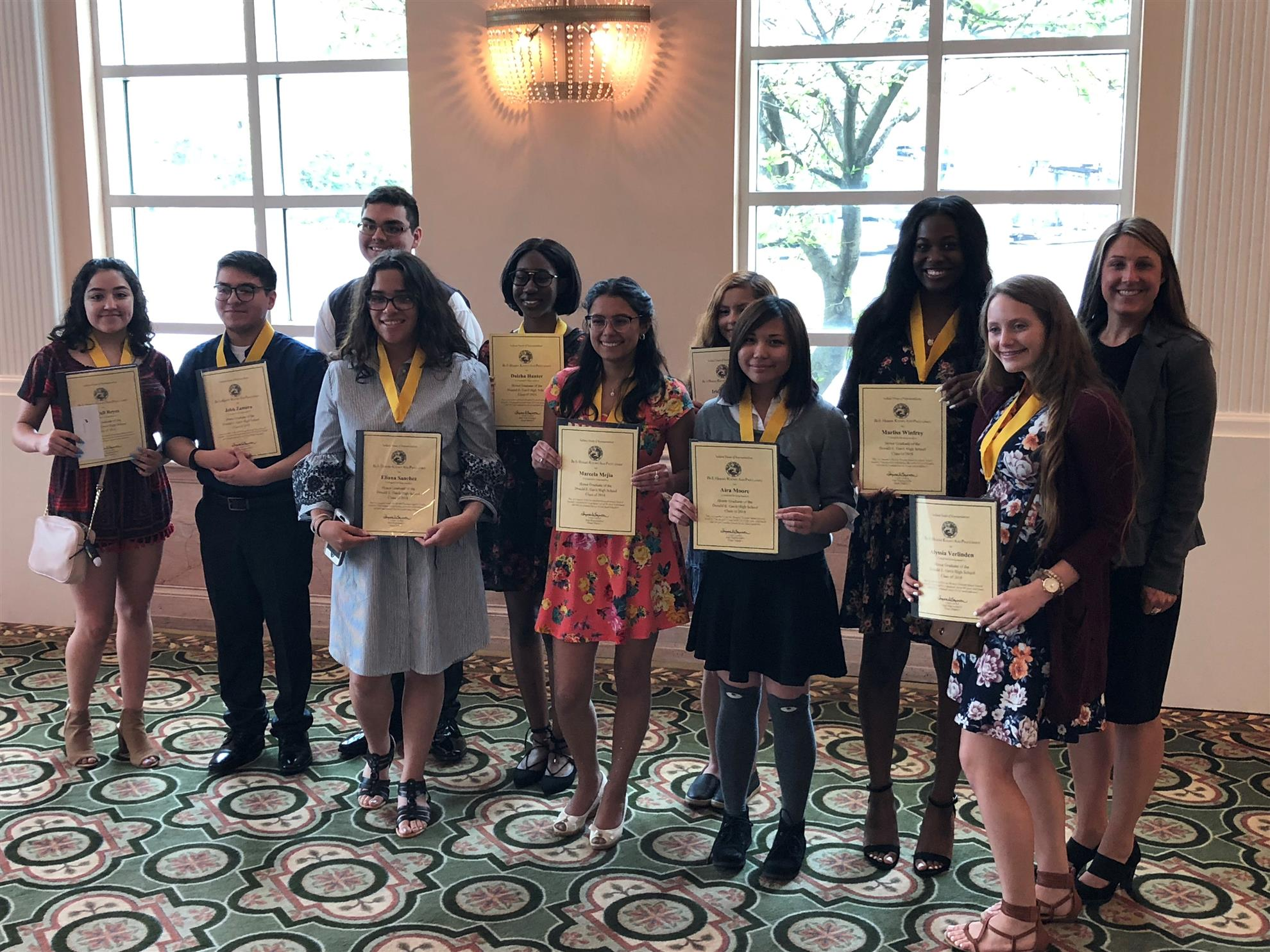 2018 Honors Scholars Luncheon