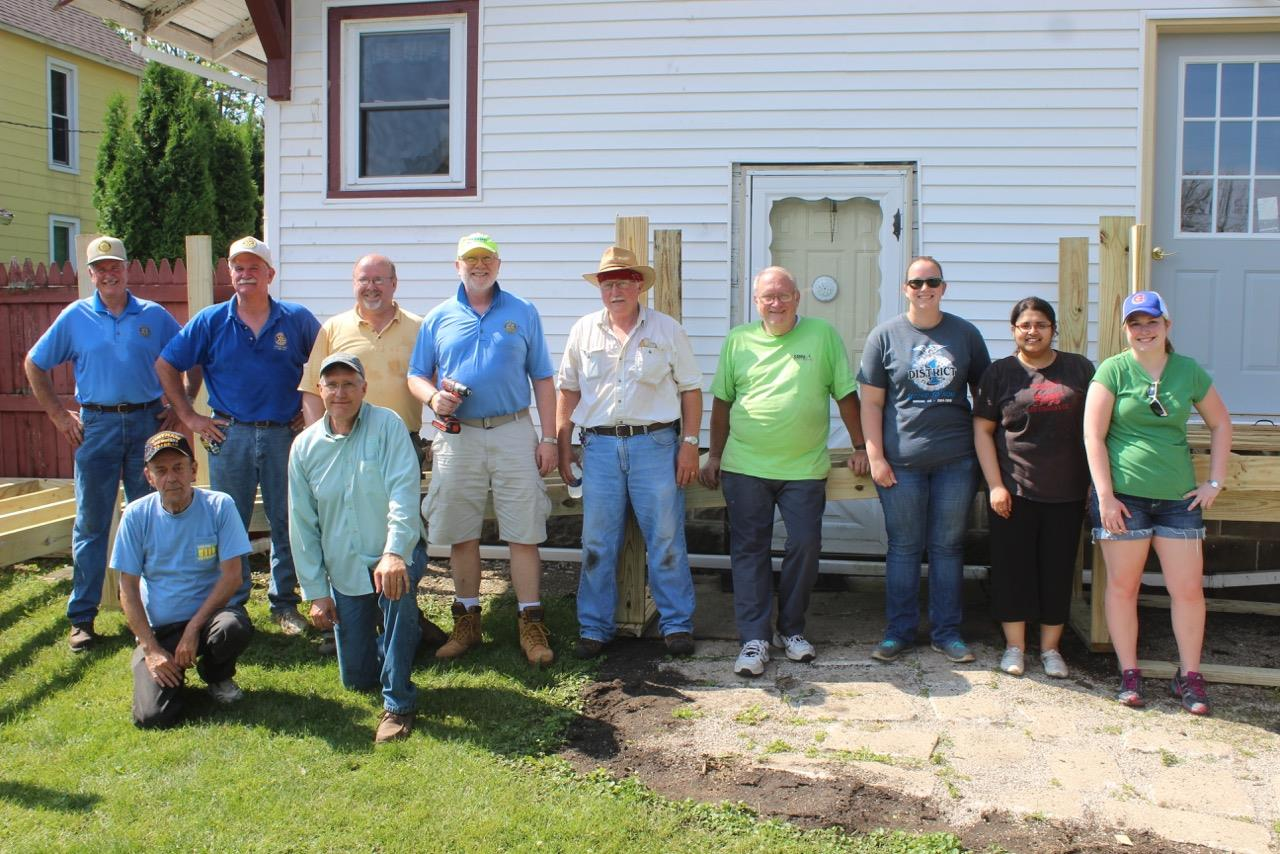Centurylink Net Login >> Rotary Teams up to Build Ramp | Rotary Club of Kentland
