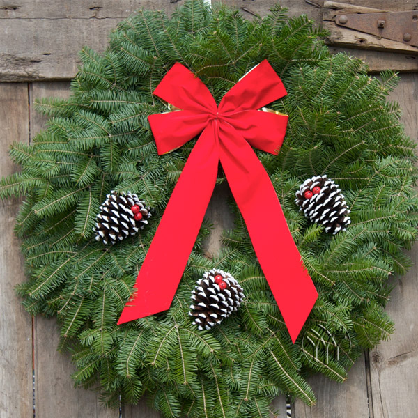 The Classis Wreath is the most popular selection.