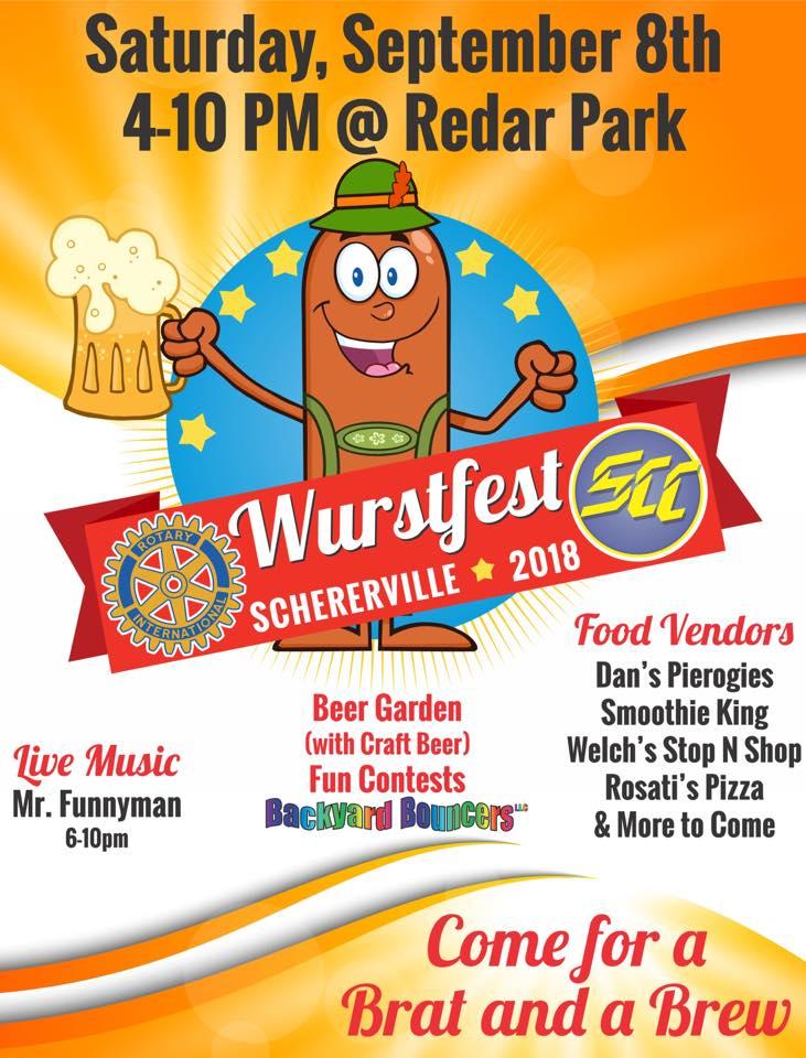 Wurstfest Flyer 2018