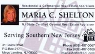 Maria Shelton, Real Estate Appraiser