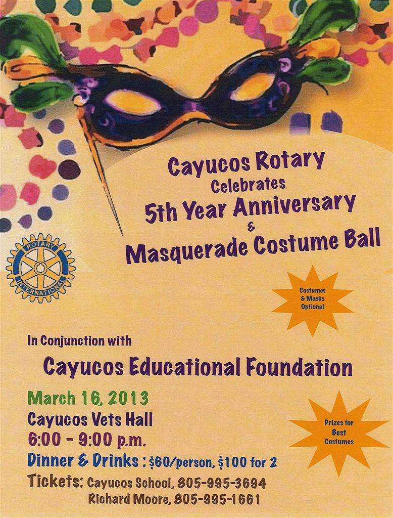 Cayucos 5th Anniversary