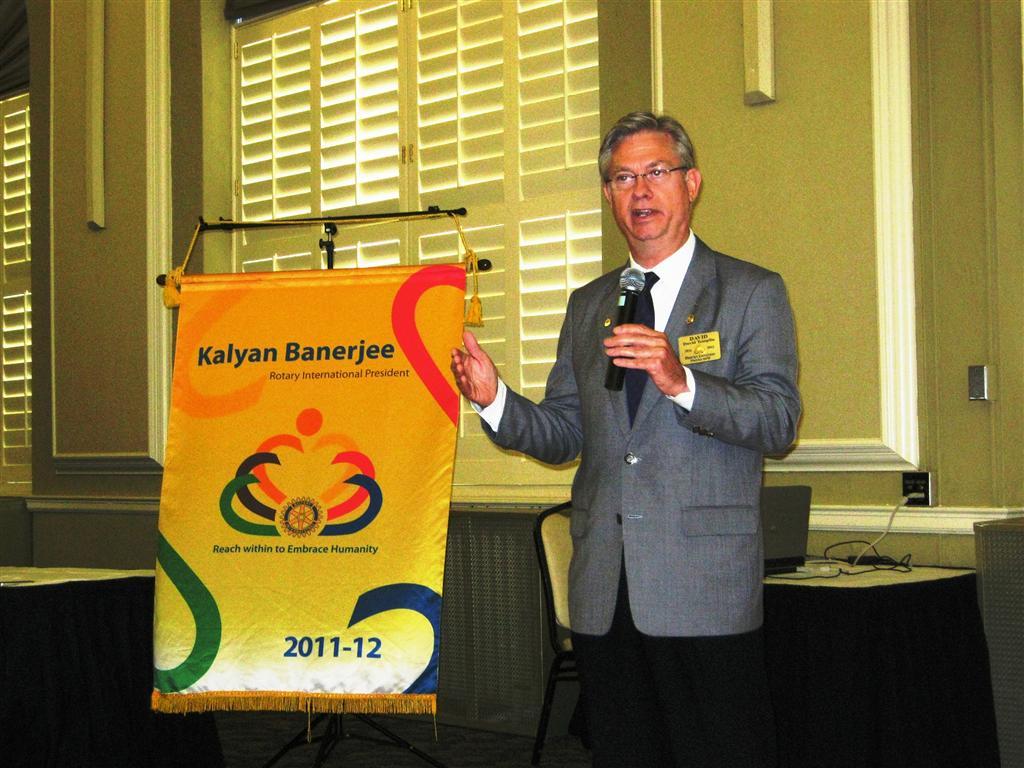 Rotary District 6450 Governor, David Templin