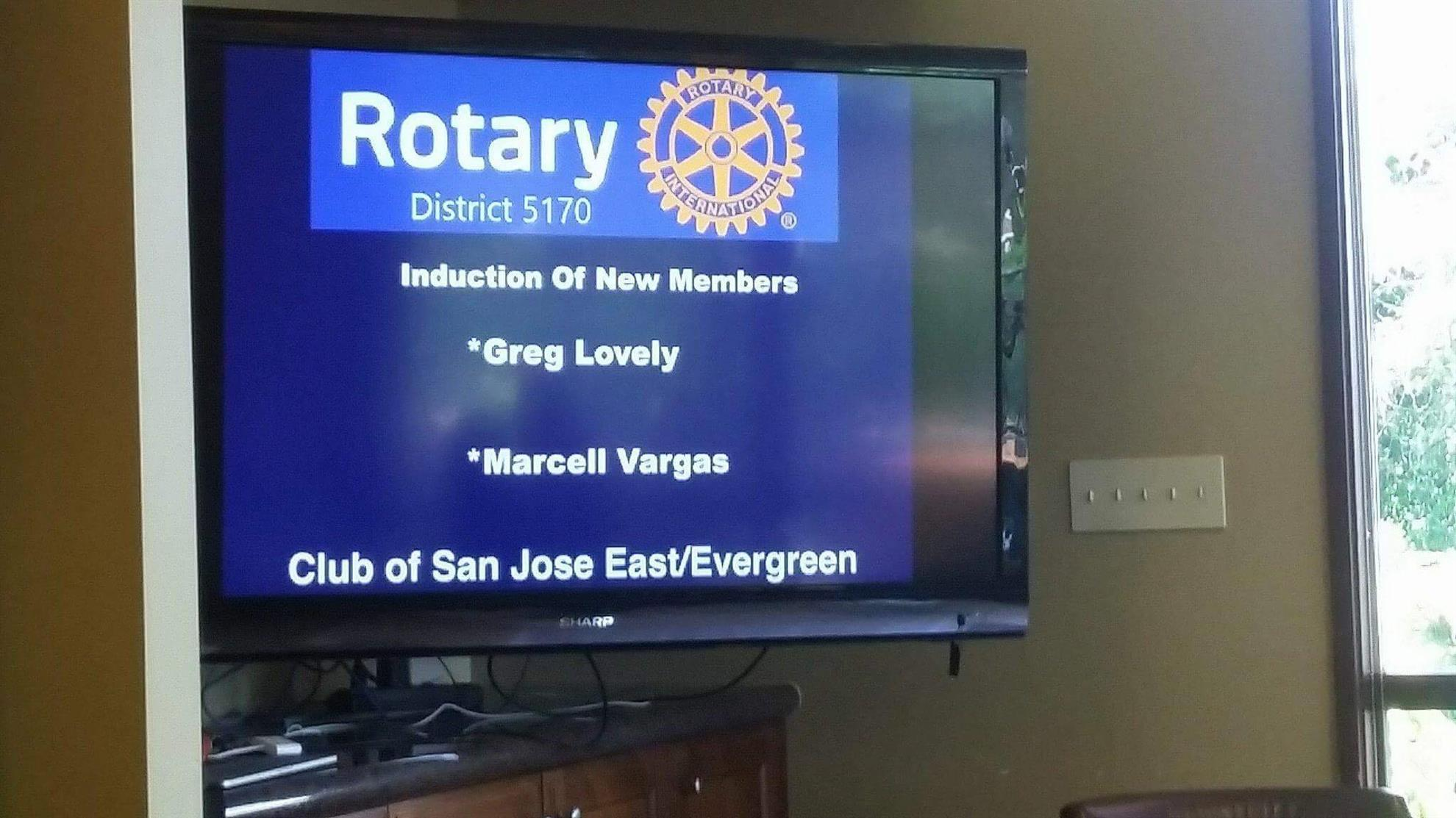 Stories Rotary Club Of San Jose East Evergreen Welcome To Cheap Led Hoops The Best Resource Online Help You Find A Special Opportunity People Into Your This Is Memorable Experience And In Ceremony President Lets New Membesr Know That