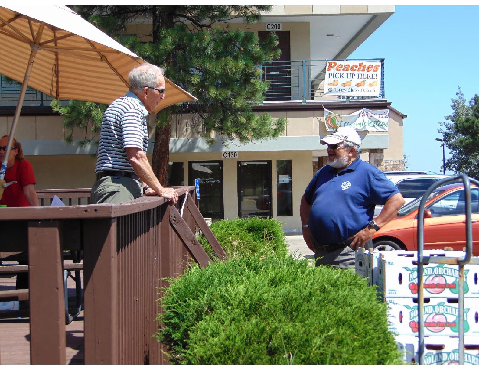 Aug 18, 2017 Peaches Sale | Rotary Club of Conifer, Colorado