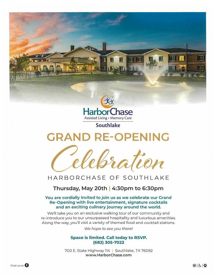 Harbor Chase: Grand Re-Opening Celebration