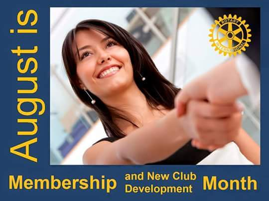 Rotary Monthly Theme - August | Rotary Club of Addison Midday