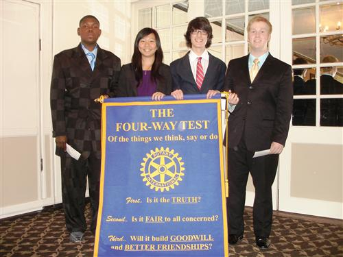 Left to Right: Justice Chandler, Kathy Chan, Miguel Olguin, Mitchell Ferguson