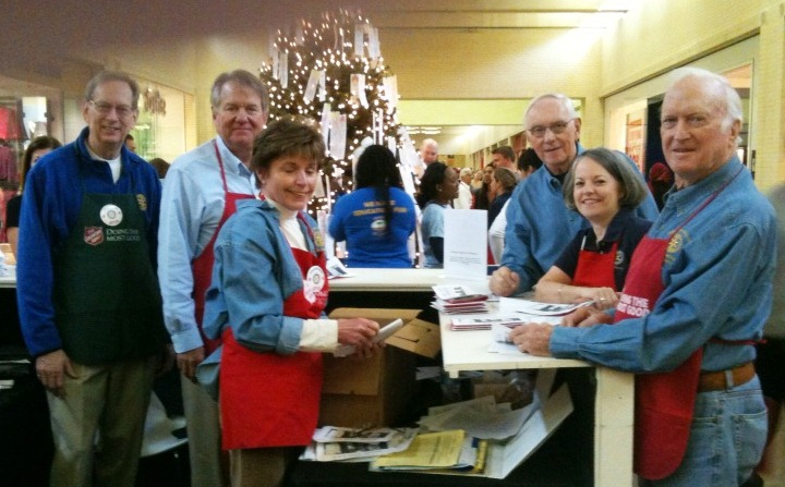 Service Project Nov 26 - Angel Tree Booth   Rotary Club of Dallas