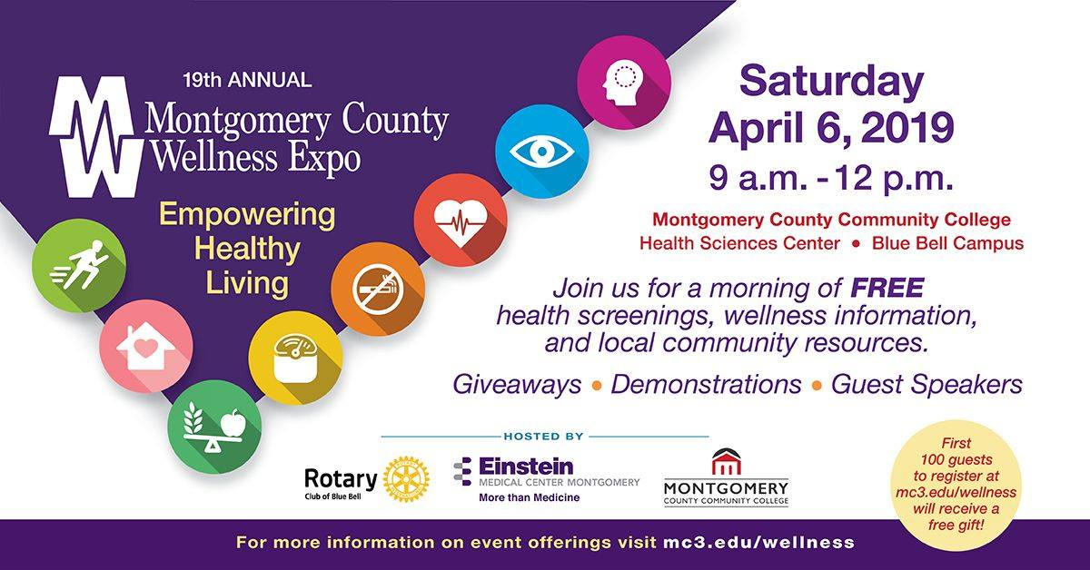 The Montgomery County Wellness Expo | Rotary Club of Blue Bell