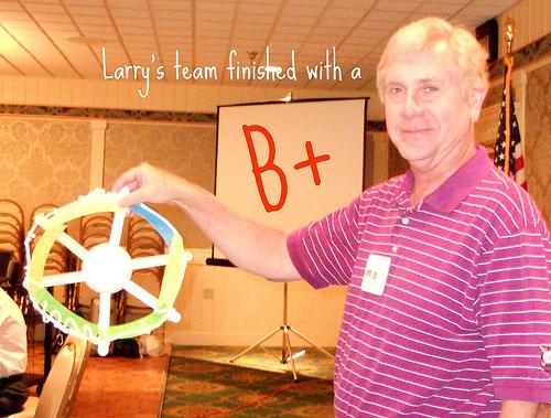 larry's team wheel