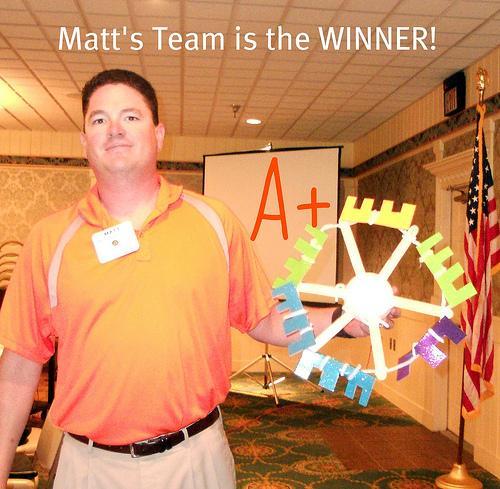 matt's team wheel