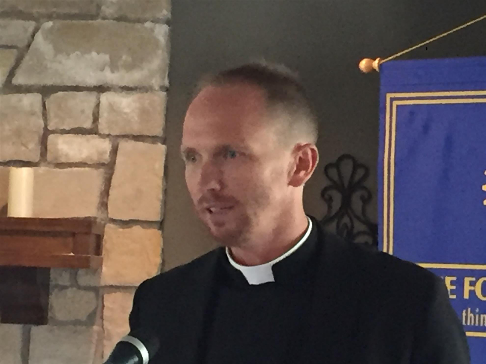 Fr. Nick Blaha - Didde Catholic Campus Center   Rotary Club of Emporia