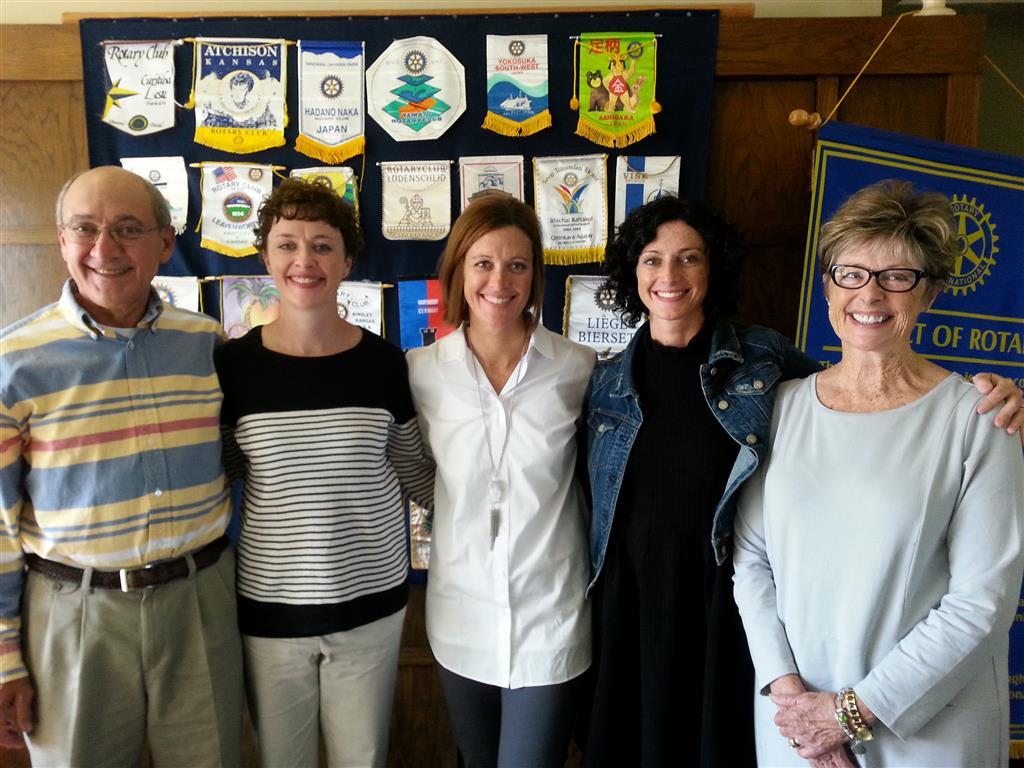 Paul Harris Fellow Awarded To Ace Family Members Rotary Club Of Emporia