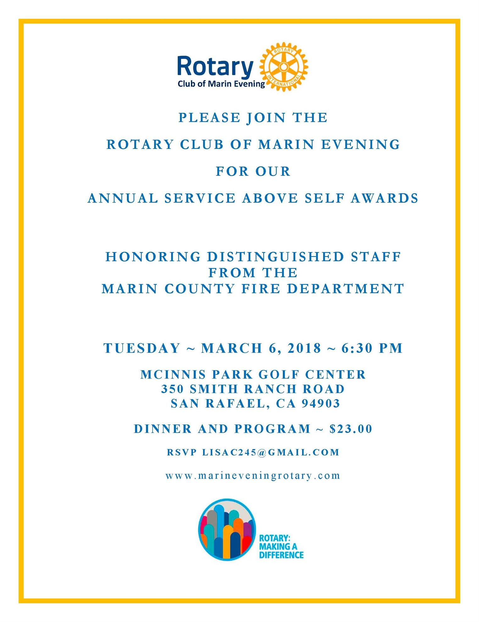 Stories | Rotary Club of Marin Evening