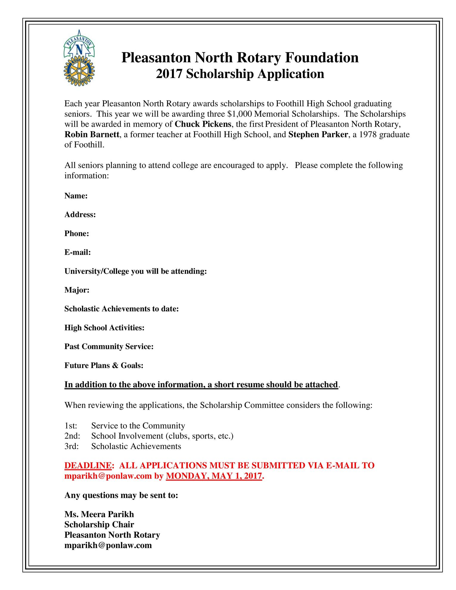 scholarship application Scholarships - finding scholarships has never been easier scholarship applications for college, engineering, high school, nursing, and first year students are all available.