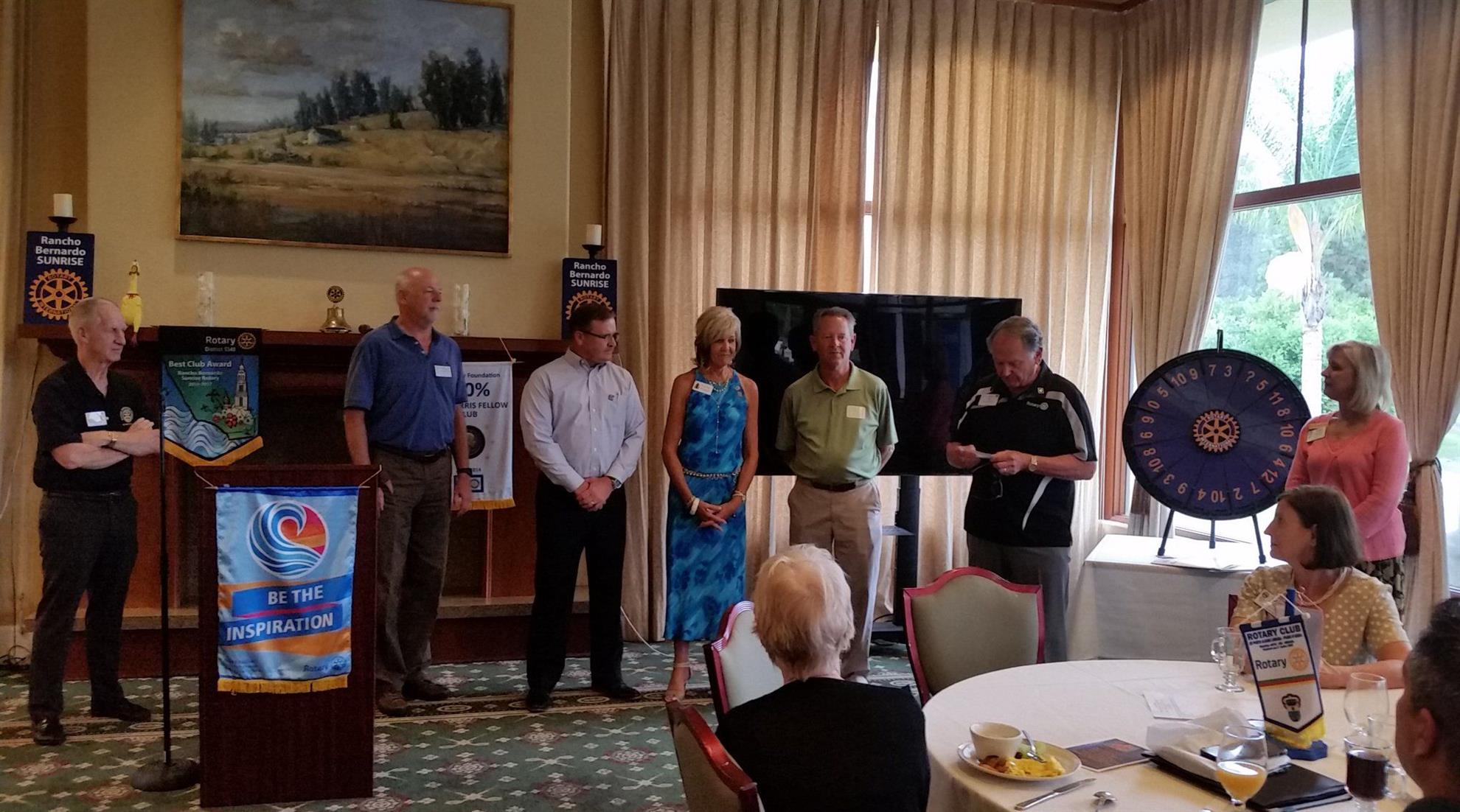 Stories Rotary Club Of Rancho Bernardo Sunrise San Diego Electric Fan Conversion For Suburban Meet The Two Newest Members Sandi Menderson Bella Reflections And Brian Gansert Ace Parking