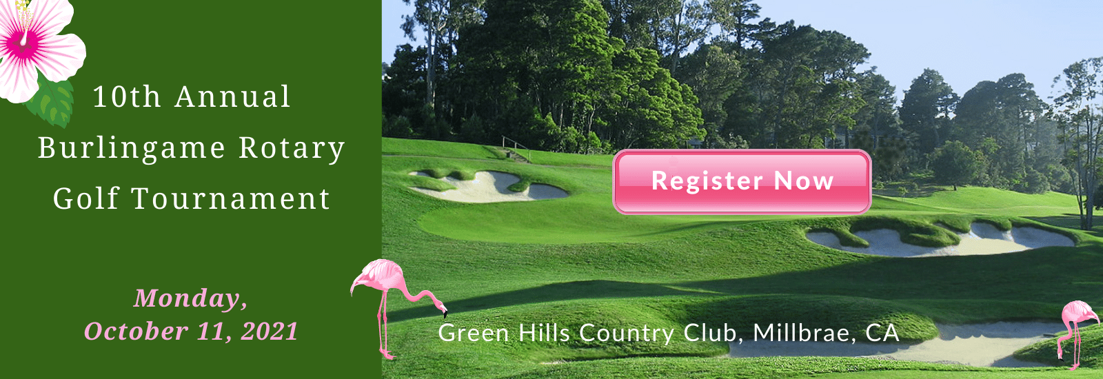 10th Annual Burlingame Rotary Golf Tournament