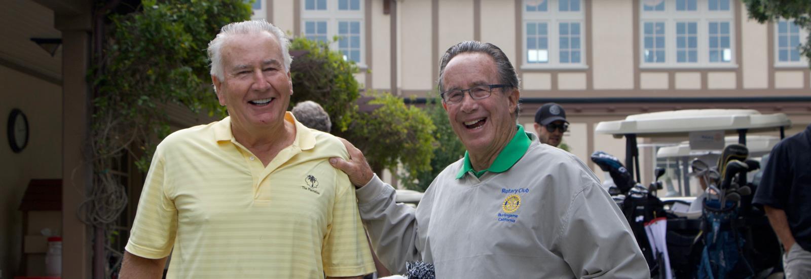 Ted Kruttschnitt & Past President Mike Horwitz