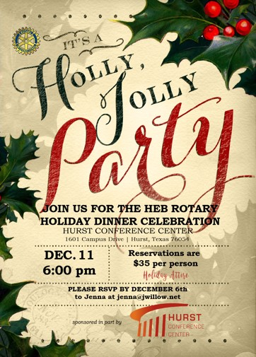 Heb Hours Christmas Eve.Annual Heb Rotary Christmas Party 11 Dec 2017 Rotary