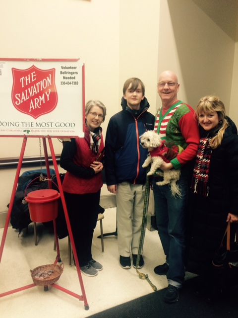 John Daily June Ring And The Buie Family All Stepped Up To Help Collect Money For Salvation Army Thank You