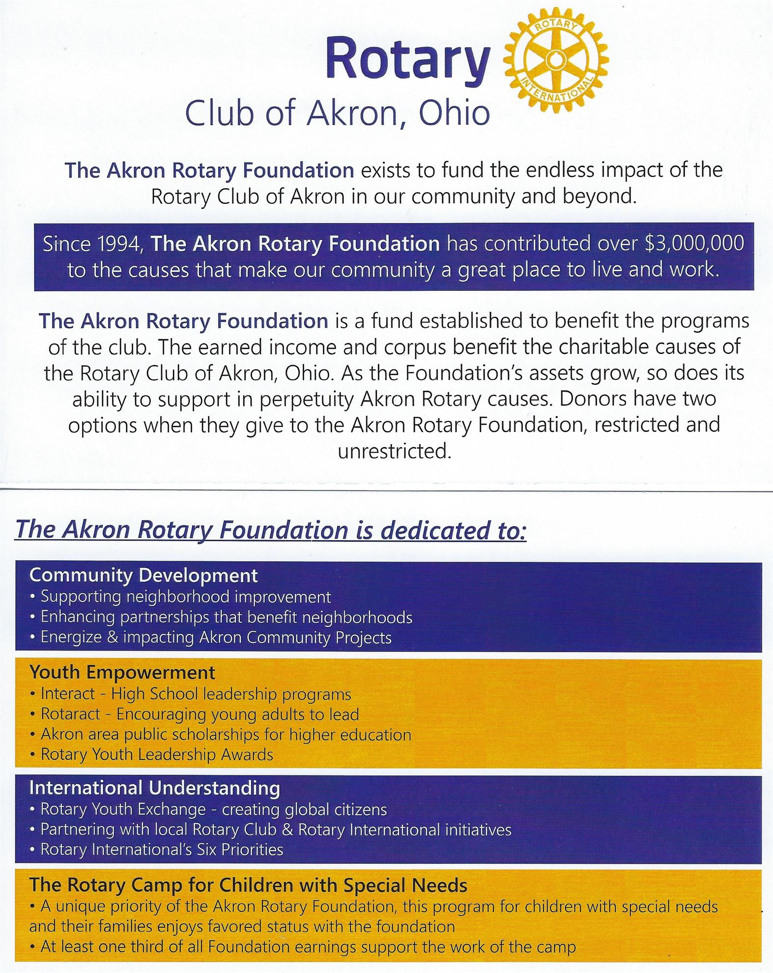 Home Page Rotary Club Of Akron