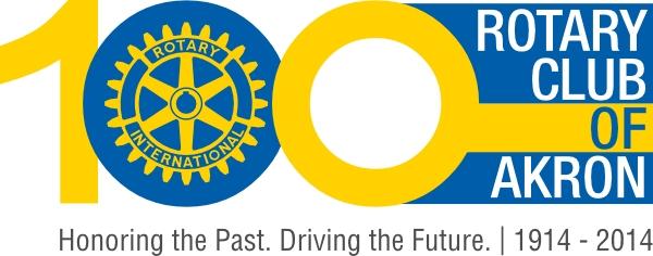 Akron Centennial Logo
