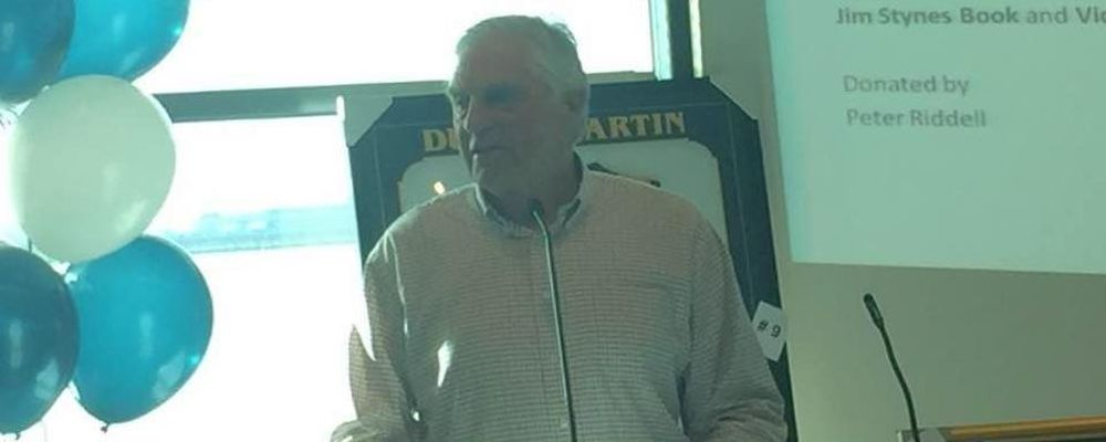 Neil Roberts at 2017 Footy Breakfast