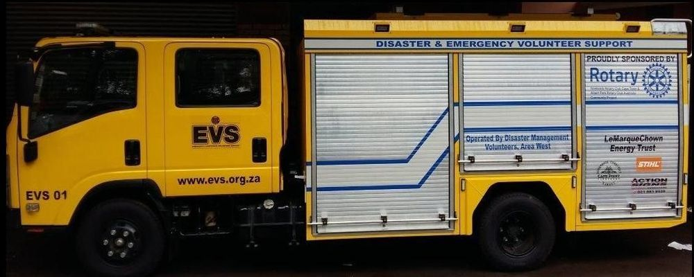 Emergency Vehicle in South Africa that we assisted in buying